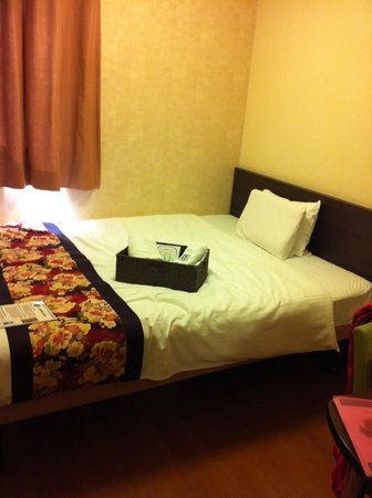 Dotonbori Hotel: Comfy bed and pillow!