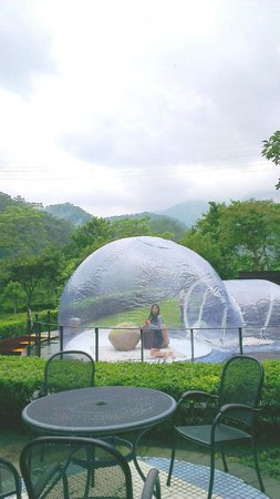 Star tent in Hotel Royal Chiao Hsi