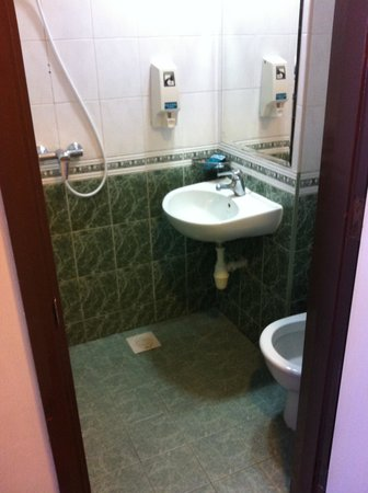 Smelly And Small Toilet