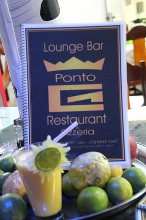 Lounge Bar Ponto G Restaurant: Fantastic