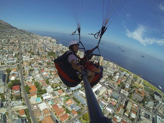 Fly Cape Town Paragliding: The incredible Cape Town view
