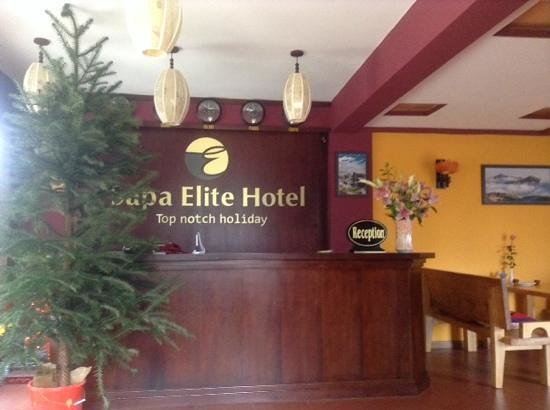 Sapa Elite Hotel: Lobby