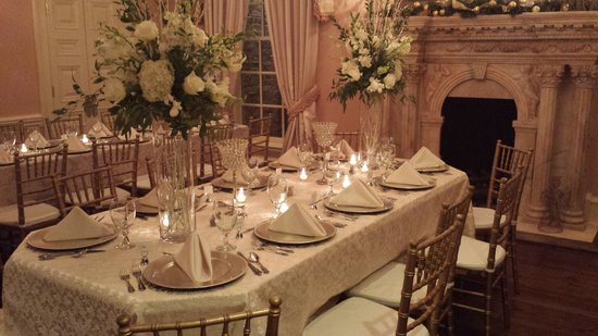 Fountainview Mansion : Dining room for a recent event