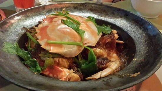 Elephant Cafe & Restaurant: Glass Noodle with Crab