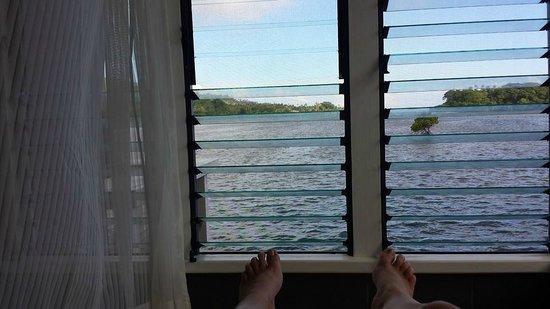 Koro Sun Resort and Rainforest Spa : view