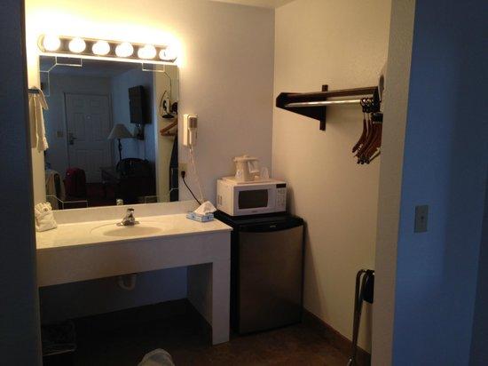 Sandia Peak Inn Motel: Bagno