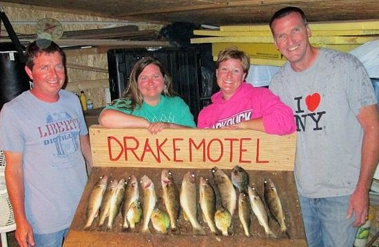 Drake Motel: In the fish cleaning room