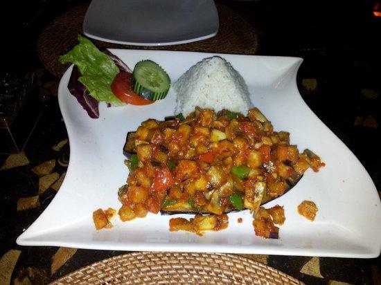 Melia Bali Indonesia: una cena (restaurante indonesio)