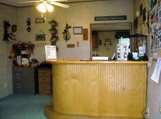 Drake Motel: Part of the Welcome Office