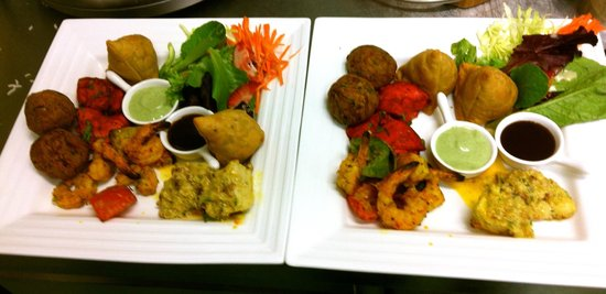 Red Chillies: Grab a few starter platters for a large group