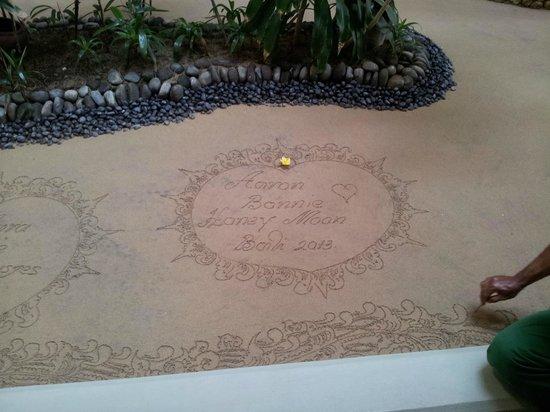 Melia Bali : la dsedicatoria