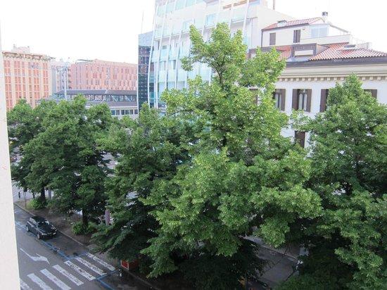 Hotel Europa Padova: Вид из номера
