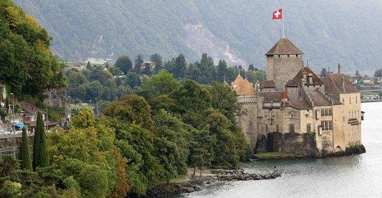 Lac Leman : Шильонский замок