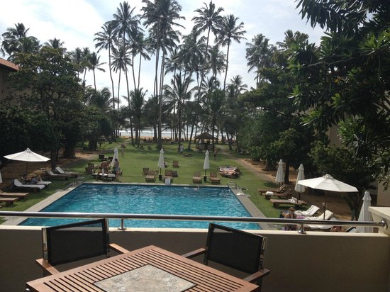 Hotel Mermaid & Club : View from Mermaid Restraunt