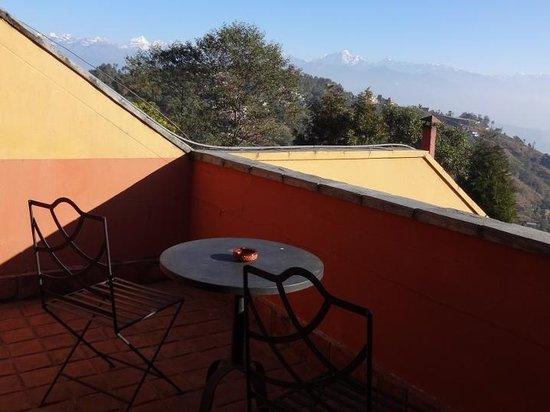 Club Himalaya: バルコニーからの眺め
