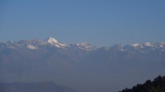 Club Himalaya: 山の眺め
