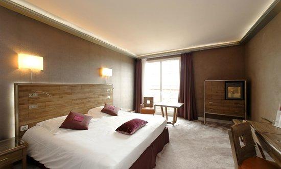 BEST WESTERN Grand Hotel Le Touquet : Chambre supérieure vue sur la Canche