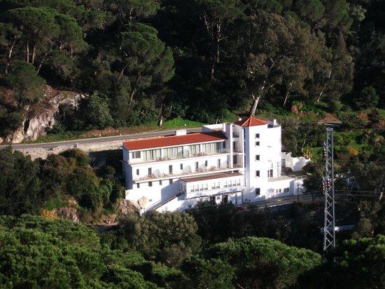 Villa Termal das Caldas de Monchique Spa & Resort: Vista desde un mirador del Hotel D. Carlos