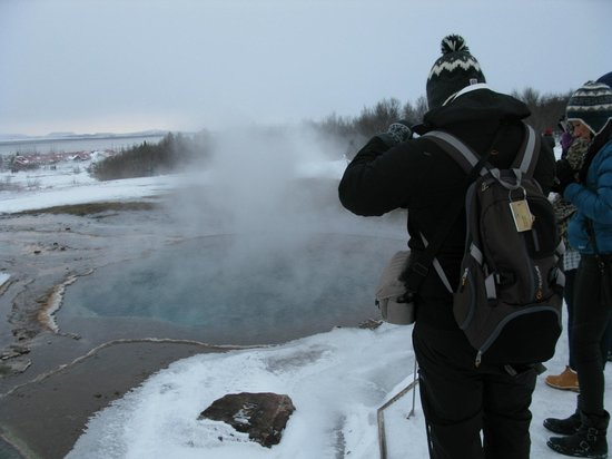 Route du Cercle d'Or : 3rd stop: Geysir park