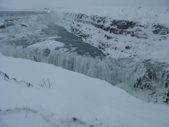 Route du Cercle d'Or : 2nd stop: Gulfoss Falls