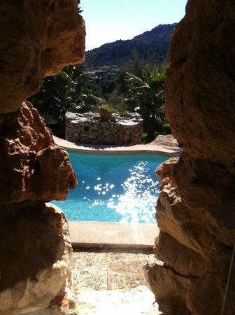 Finca Es Castell: Pool