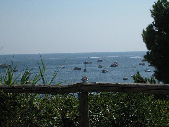 Villaggio Resort Nettuno : so war der Blick vom Wohnwagen aus