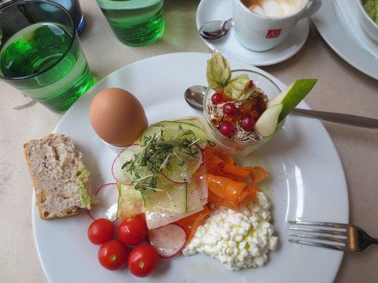 Restaurant Mark's: Marks Fit Frühstück - köstlich und gesund!