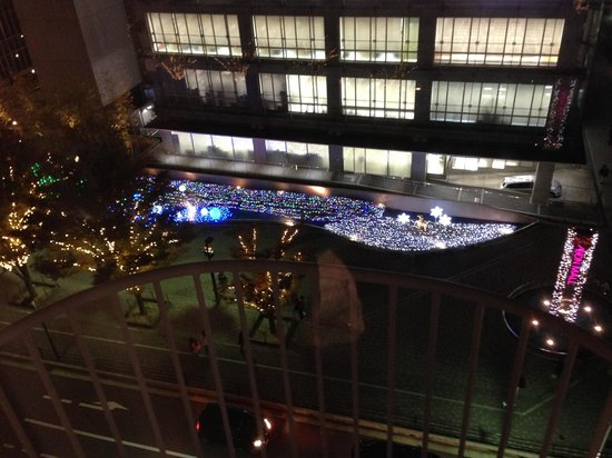 New Miyako Hotel: お部屋からの眺め
