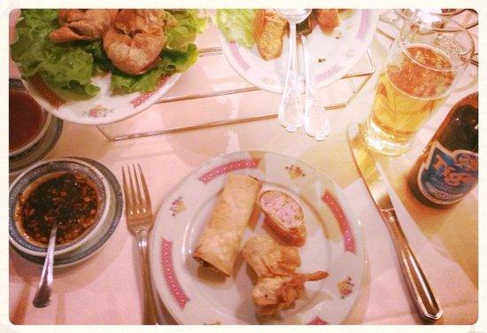 Cafe Restaurant de Cour Tai Mah : mon couvert