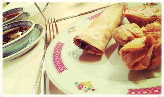 Cafe Restaurant de Cour Tai Mah : starters