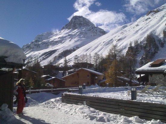 Club Med Val d'Isere : terrasse solarium