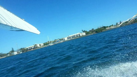 Cloud 9 Seaplanes: Landing :-)
