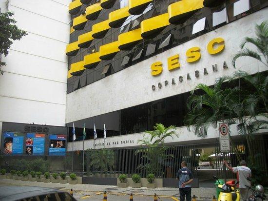Hotel Sesc Copacabana: Fachada