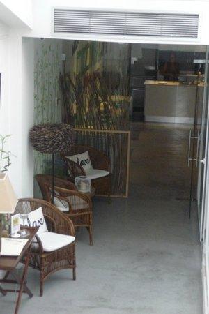 Gallery Hostel: cucina