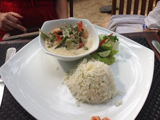 Kingfisher: green curry