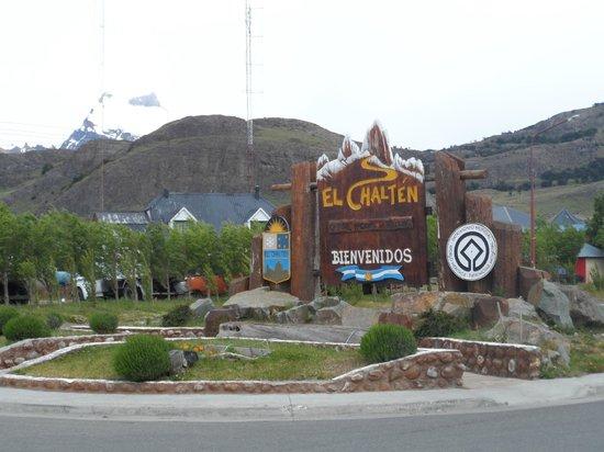 Hosteria Senderos: Bienvenida a El Chalten