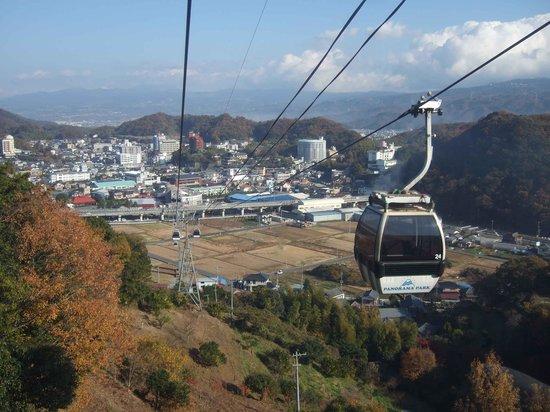 Izunokuni Panorama Park: ロープウエーからの眺望