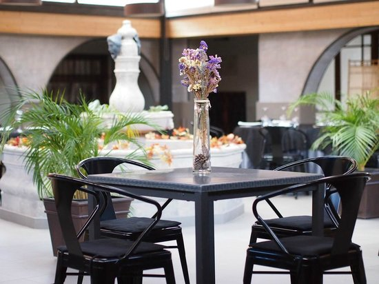 Hotel Mas El Cuquello: Salón comedor