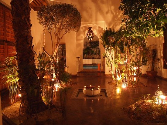 Riad l'Orangeraie : The view from our room