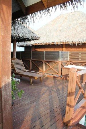 Sun Aqua Vilu Reef: terrasse
