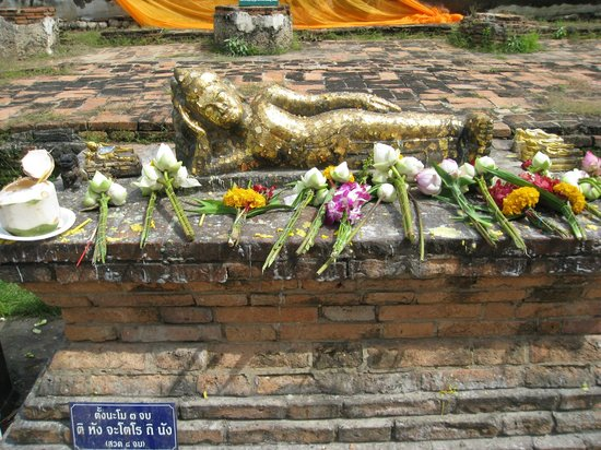 Temple of the Reclining Buddha (Wat Lokayasutharam) : Miniature Buddha