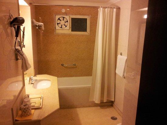 The Janpath Hotel: Bathroom