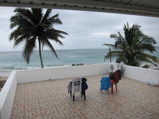 Casa Los Delfines : Терраса, на которую выходил наш номер