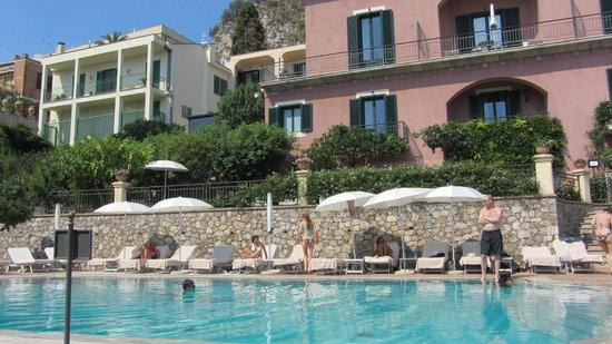 Belmond Grand Hotel Timeo : Swimming pool area