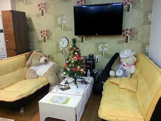 Pobi Guesthouse: 아늑한 쇼파