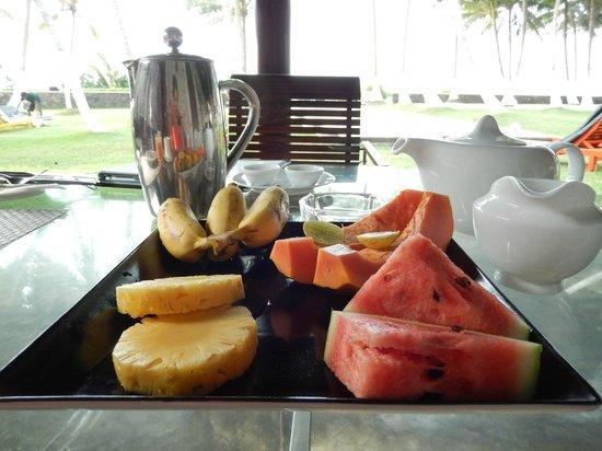 Apa Villa Thalpe: breakfast