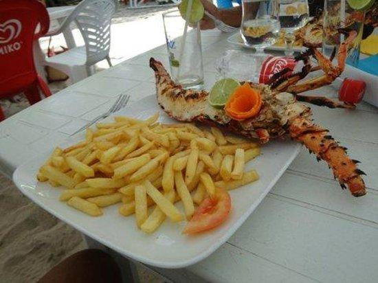 Chez Evelyne: assiette