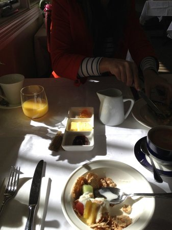 Clydesdale Manor: breakfast