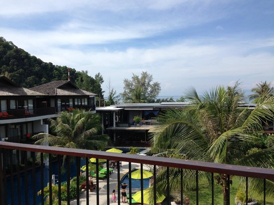 Holiday Inn Resort Krabi Ao Nang Beach: view from penthouse