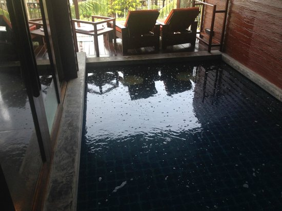 Holiday Inn Resort Krabi Ao Nang Beach: penthouse pool , dirty!!